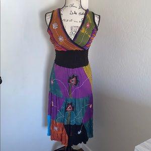 Rising International Boho Hippie Dress
